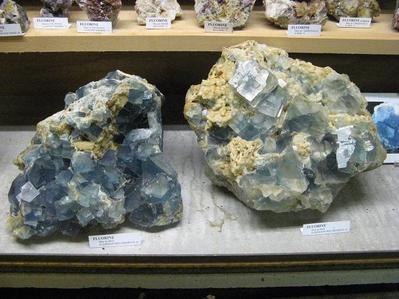 Fluorine de Beix - Collection Musée Mines et Minéraux de BLAIN 44
