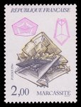 Marcassite (timbre) - France - 1986 -- 03/08/08