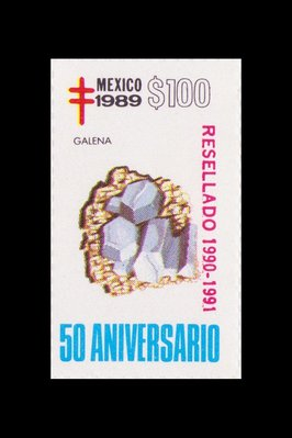 Gal�ne (timbre) - Mexique - 1989 -- 17/08/08