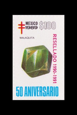 Malachite (timbre) - Mexique - 1989 -- 17/08/08