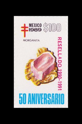 Morganite (timbre) - Mexique - 1989 -- 19/08/08
