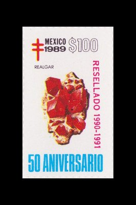 Realgar (timbre) - Mexique - 1989 -- 19/08/08